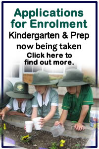 Enrolment applications for Kindergarten 2013 are now being taken.  Click here for more information